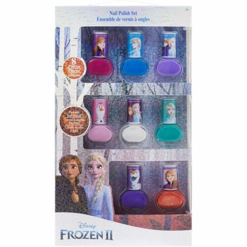 Kids Washable Disney Frozen 2 8 Piece Nail Polish Disney frozen nail polish