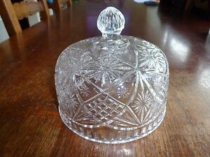 ANCIENNE-CLOCHE-A-FROMAGE-TAILLE-CRISTAL