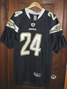 693cb25a3 NFL ON FIELD REEBOK SEWN SAN DIEGO CHARGERS MATHEWS 24 FOOTBALL ...