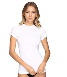 Rip Curl Women's White Coast to Coast  UV Short Sleeve Shirt 8221 Size XS  discount