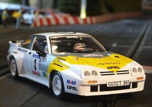 Slotcar-OPEL-Manta-400-RALLYE-in-1-32-auch-fuer-Carrera-Evolution-AV51508