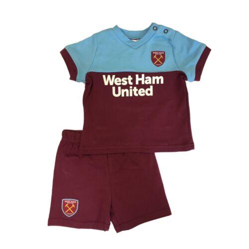 West Ham United Baby//Toddler Kit T-shirt /& Shorts Set2019//20 Season