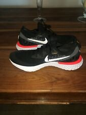 ae5dc3f456b3a item 1 Nike Epic React Flyknit Mens Running Shoes Size UK 10 Black - ONLY  USED ONCE! -Nike Epic React Flyknit Mens Running Shoes Size UK 10 Black -  ONLY ...