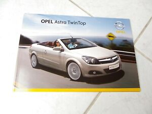 Opel-Astra-Twintop-2007-Catalogo-Folleto-Catalogo-Comercial-Sales-Prospecto