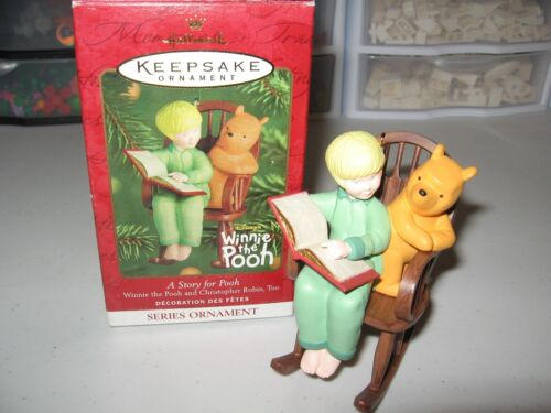 "HALLMARK KEEPSAKE ORNAMENT ""A STORY FOR POOH"" DATED 2001"