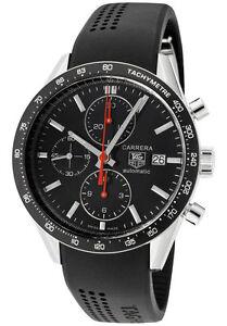 e5bbf5c4b923a TAG Heuer Carrera Automatic Chronograph CV2014.FT6014 Wrist Watch for Men