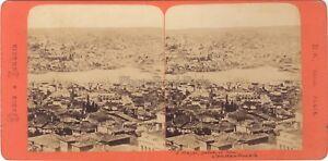 Costantinopoli-Grecia-amp-Turchia-Foto-B-K-Stereo-Di-Parigi-Vintage-Albumina-ca