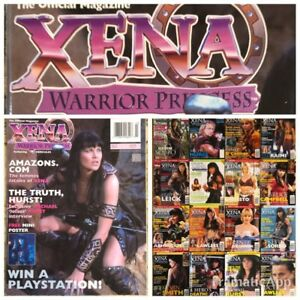 XENA-Warrior-Princess-Official-Magazine-Lot-of-17-Collectible-2000-2001-Issues