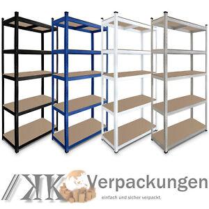 Steckregal Werkstattregal Schwerlastregal Lagerregal 100