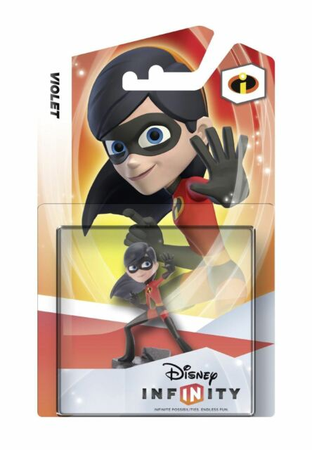 Disney Infinity Personaggio Violetto Nuovo e Sigillato