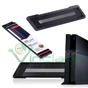 Vertical Stand base verticale console supporto Nero per Sony PlayStation 4 PS4
