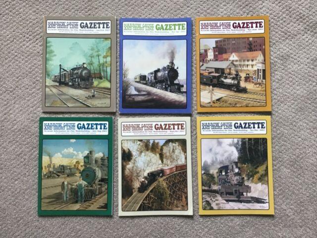 Narrow Gauge And Short Line Gazette Complete Year 2002