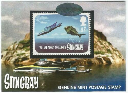 Stingray Gerry Anderson Great British Postage Stamp Card PS2