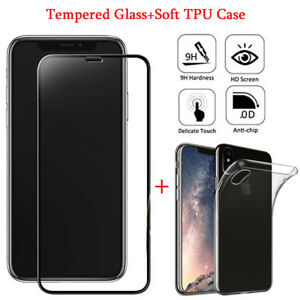 For-iPhone-X-3D-Edge-to-Edge-Full-Curve-Tempered-Glass-Screen-Protector-amp-TPU-Case