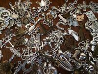 Wholesale Lot 75 Pieces Mixed Theme Charms Pendants Create Art