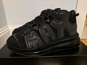hot sales 84e3c f9832 Image is loading NIKE-AIR-MORE-UPTEMPO-720-QS-1-BLACK-