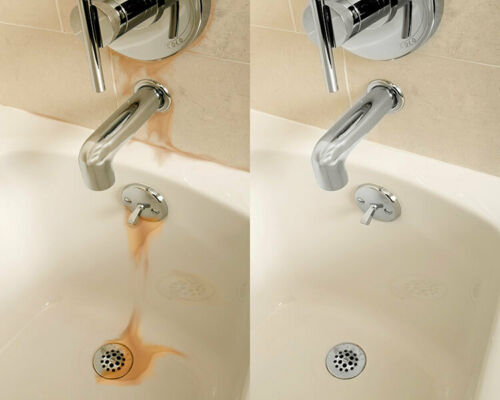 HG Rust Stain Remover Bath Driveway Stone Glass Walls Floors Sink Metal Rot