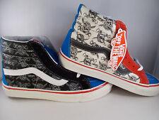 VANS SK8-Hi 38 Reissue 50th Anniversary STV/Multi Print Shoes Mens Size 10.5 NIB