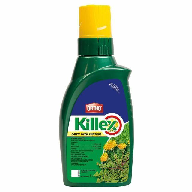 KILLEX Lawn Weed Dandelion Killer Concentrate 1L Herbicide