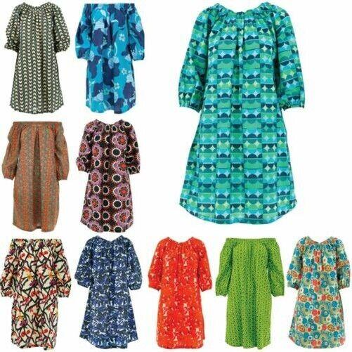 Schulterfrei Kleid Ministry Of Colour Fließendes Kittel Boho Sommerkleid