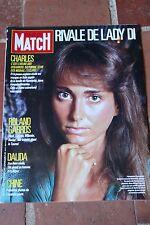 Paris Match N° 1984 1987 Roland Garros Dalida Chine Clipperton DIANA