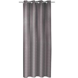Détails sur INTERDICTION Rideau obscurcissant gris œillet rideau store  oeillets
