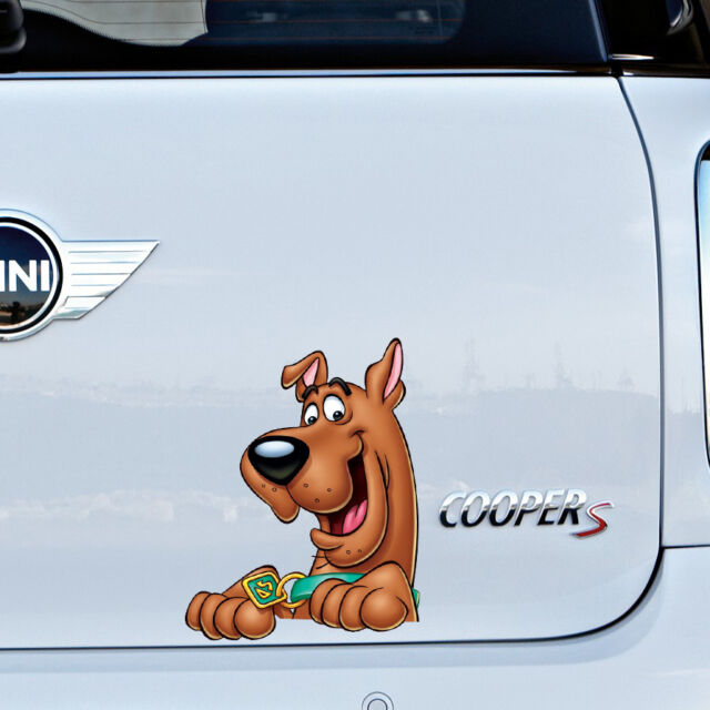 2 Scooby Doo Car Window Vinyl Decal Sticker CHOOSE FROM COLORS!