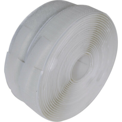 Hook And Loop Tape 2M Self Adhesive Sticky Backed 1m Hook and 1m Loop Tape Boxed