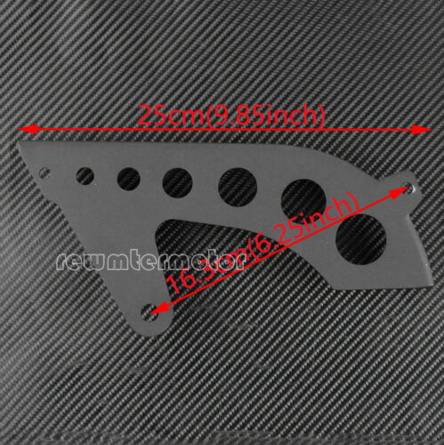 Matte Front Pulley Guard Chrome Pulley Cover For Harley Sportster XL 2004-2017