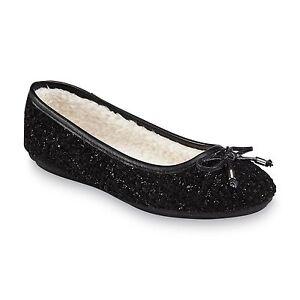 eaef67be1f3a Bongo Women s Addy Black Sherpa-Lined Ballet Flat 86836 E39