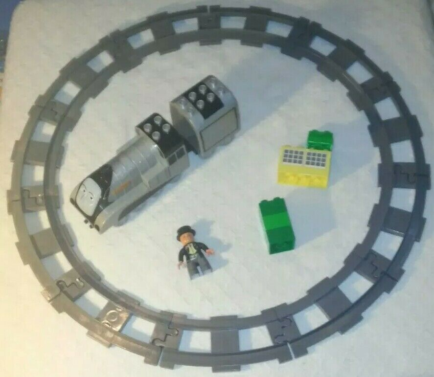 Lego Duplo Thomas the Tank Engine Spencer and Sir Toppham Hatt 3353 (Incomplete)