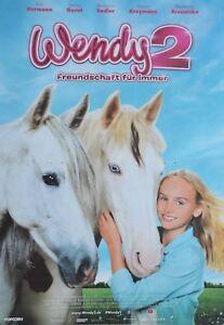 WENDY-2-A3-Poster-42-x-28-cm-Film-Plakat-Freundschaft-fuer-immer-Clippings