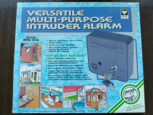 Polyvalent Multi Usage Intruder Security Alarm