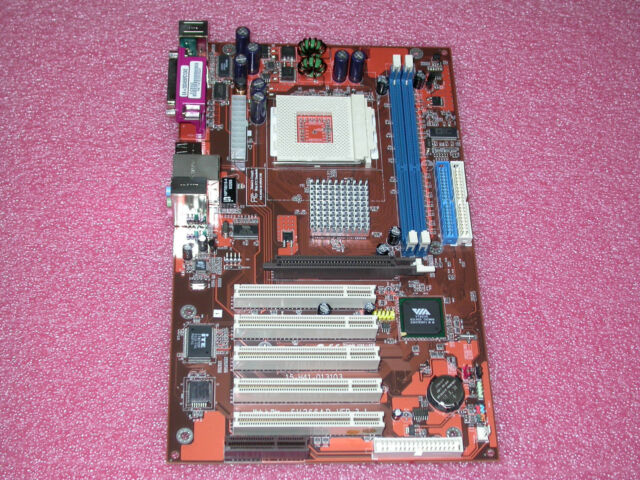 SYNTAX K7SV266AD SOCKET A VIA KT266A ATX Motherboard BRAND NEW IN RETAIL BOX