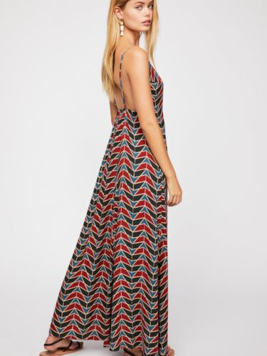 $108 NEW Free People Siren Wrap Maxi dress size XS MSRP