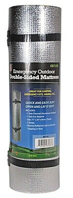 Camping Sleeping Mat Pad hiking backpacking foam bed roll thermal reflective