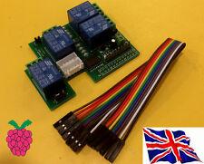 Rs-Pi  uln2803 8 bit 4 relay  Board (  23017 23s17 2803 ) for Raspberry Pi