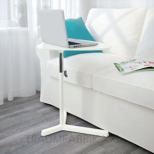 pc computer desk for projector laptop table notebook desk adjustable white new ikea ebay. Black Bedroom Furniture Sets. Home Design Ideas
