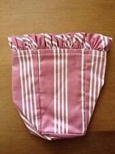 Longaberger 1998 Horizon of Hope LINER ONLY in Dusty Pink Stripe - Free Ship