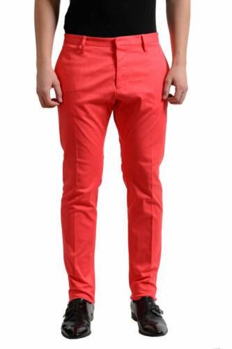 Dsquared2 Men/'s Light Red Casual Pants US 32 34