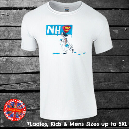 Donation to NHS NHS Graffiti Artwork T-shirt Mens Ladies Kids