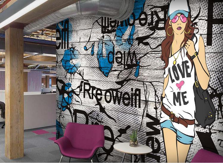 3D Trendy Beautys 75  Wall Paper Murals Wall Print Wall Wallpaper Mural AU Lemon