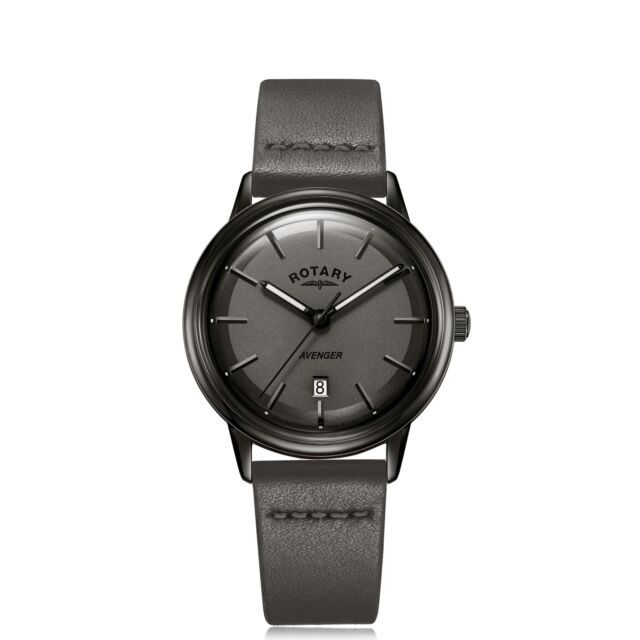 Rotary GS05345-20 Black Avenger Wristwatch