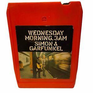 Simon & Garfunkel Wednesday Morning 3 AM 8 Track Tested & Works