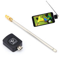 DVB-T Dongle Receiver Digital TV Tuner Stick For Android Phone Tablet + Antenna