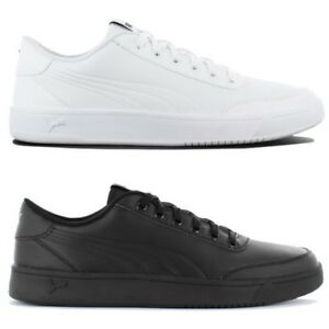 dda1c90b2b2 Puma Court Breaker Leather Mono Men s Sneakers Shoes Leisure Leather ...