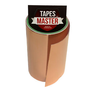 Copper-Foil-Tape-6-034-X-10ft-EMI-Conductive-Adhesive-Ship-from-USA
