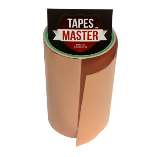 """Ship from USA EMI Conductive Adhesive Copper Foil Tape 6/"""" X 10ft"""