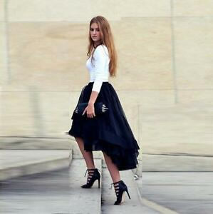 High Low Formal Skirt