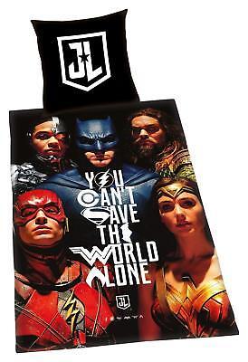 Bettwäschegarnituren Bettwäsche Justice League Die Liga Der Gerechten 135 X 200 Cm Geschenk Neu Wow SorgfäLtig AusgewäHlte Materialien